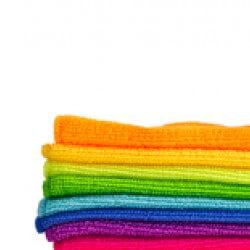 schoonmaken met microvezel